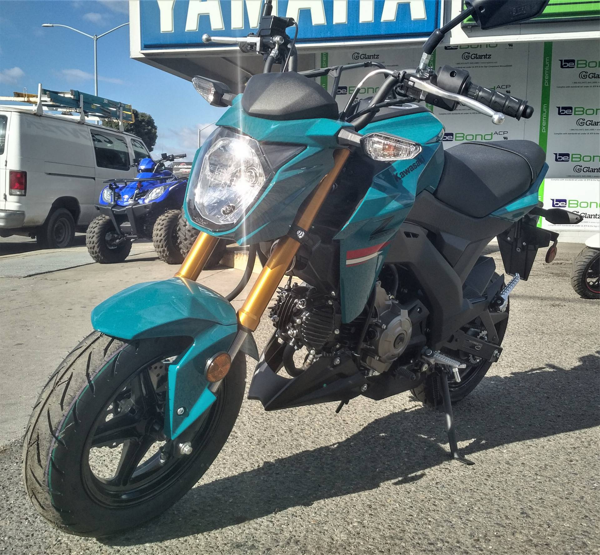 2021 Kawasaki Z125 PRO in Salinas, California - Photo 6
