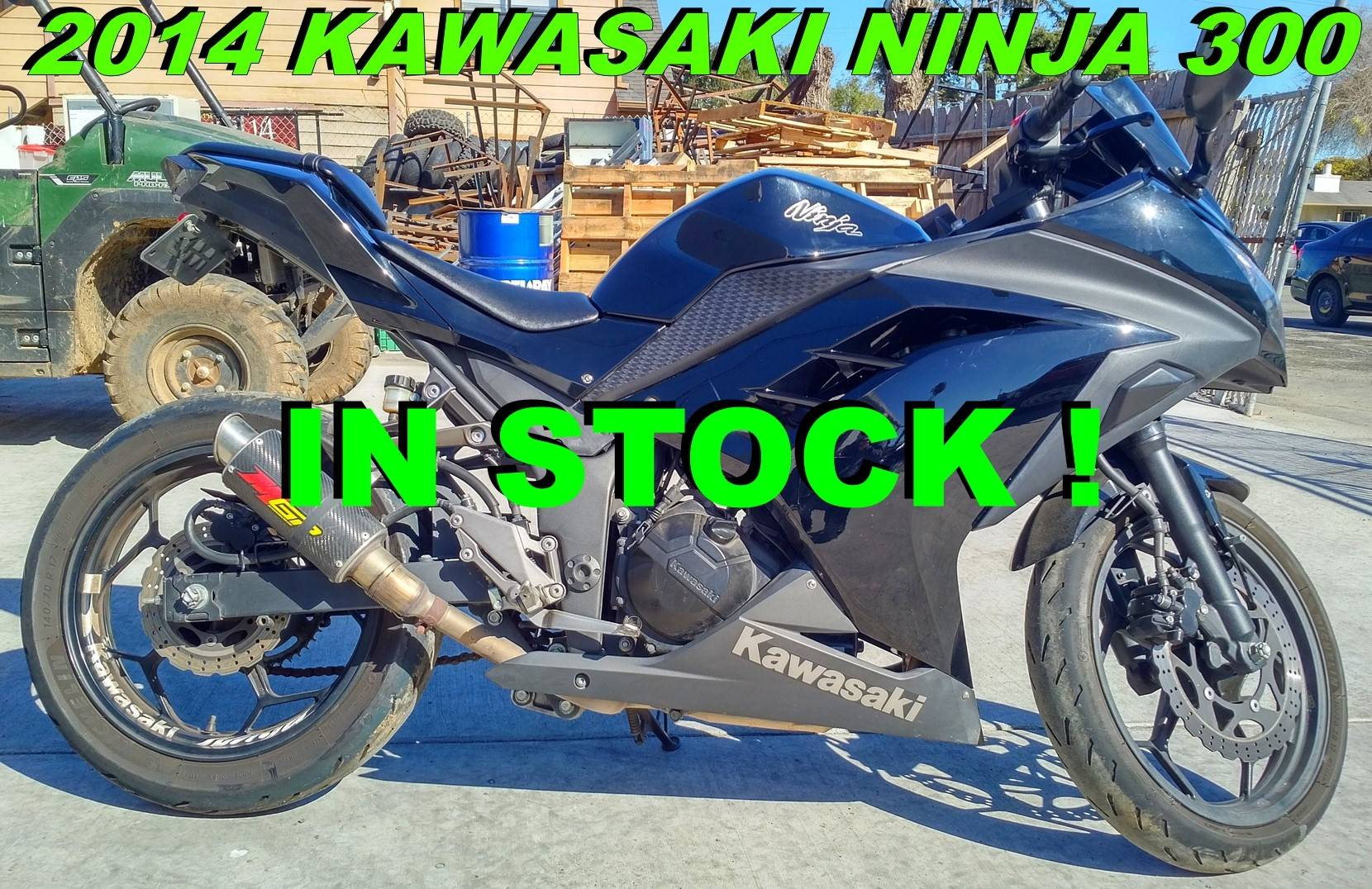 2014 Kawasaki Ninja® 300 in Salinas, California - Photo 1