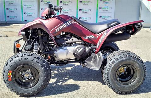 2021 Kymco Mongoose 270 Euro in Salinas, California - Photo 3