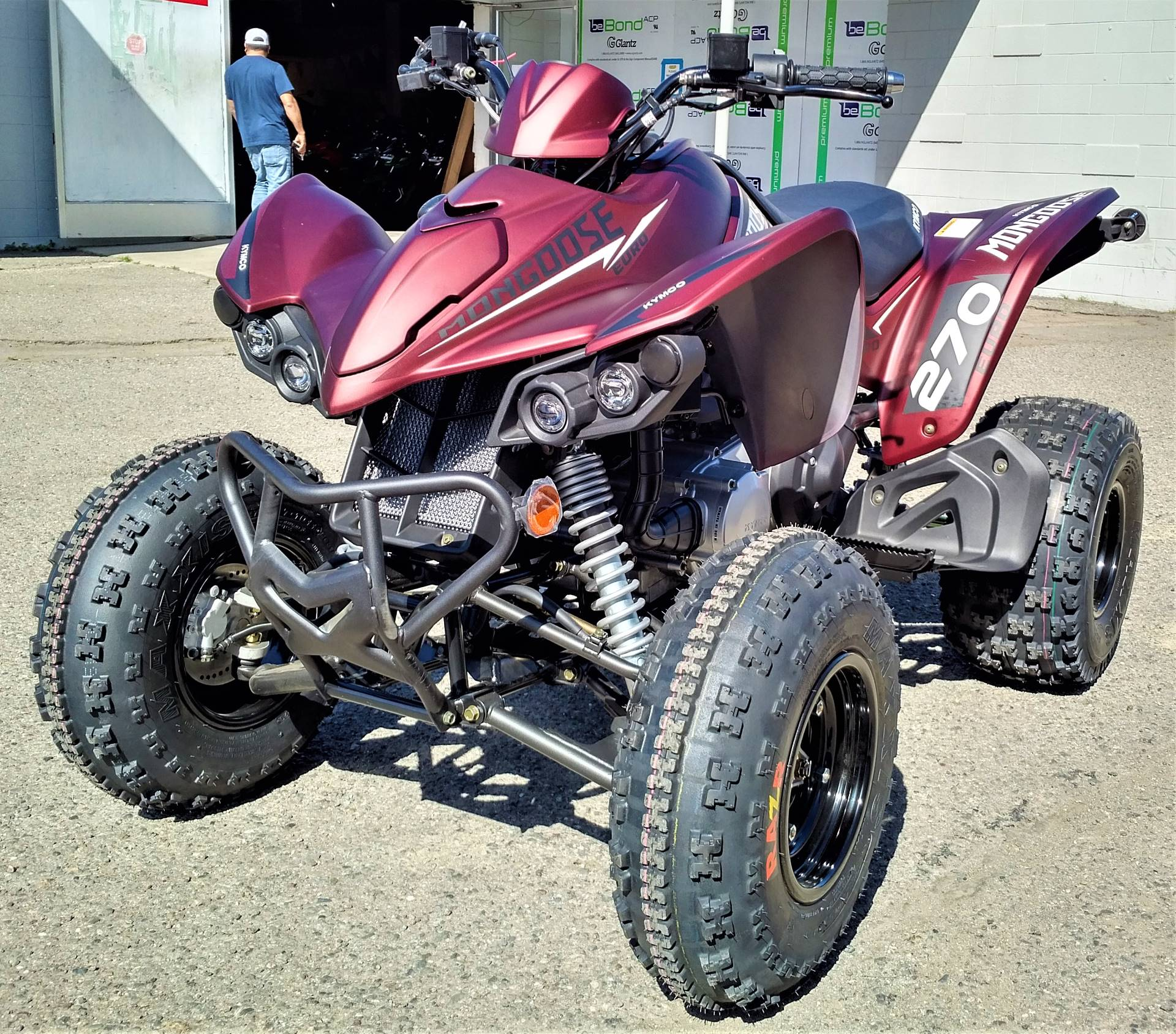 2021 Kymco Mongoose 270 Euro in Salinas, California - Photo 6