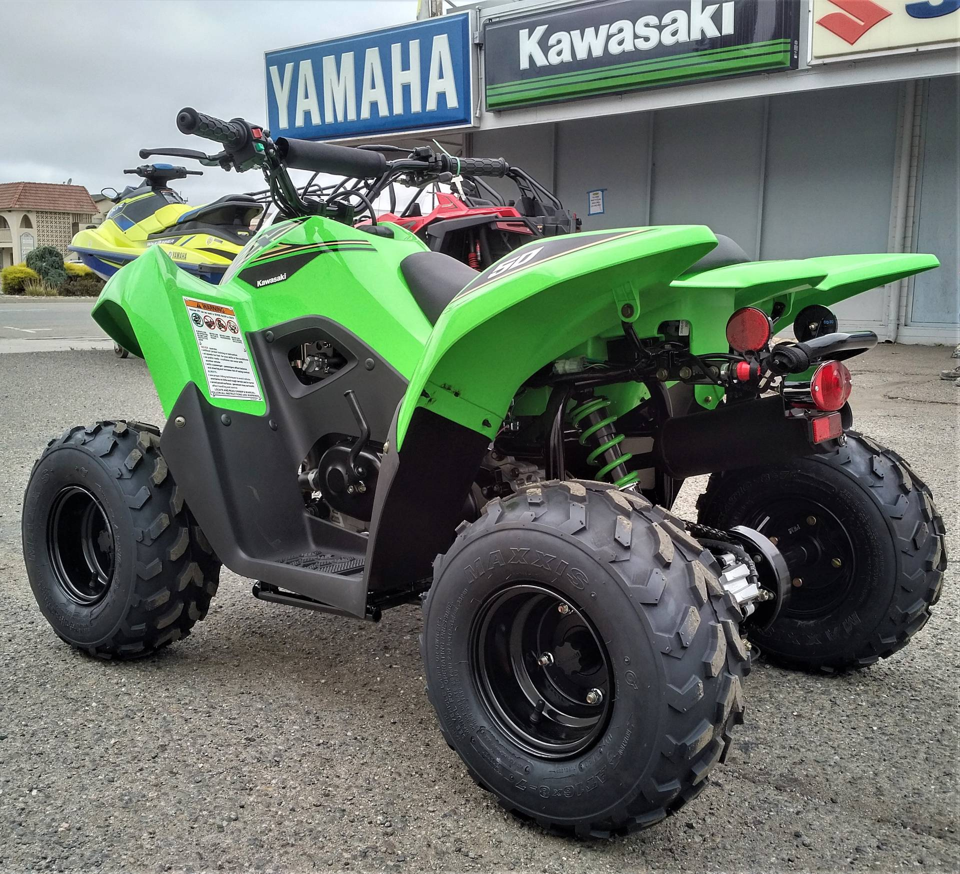 2021 Kawasaki KFX 50 in Salinas, California - Photo 7