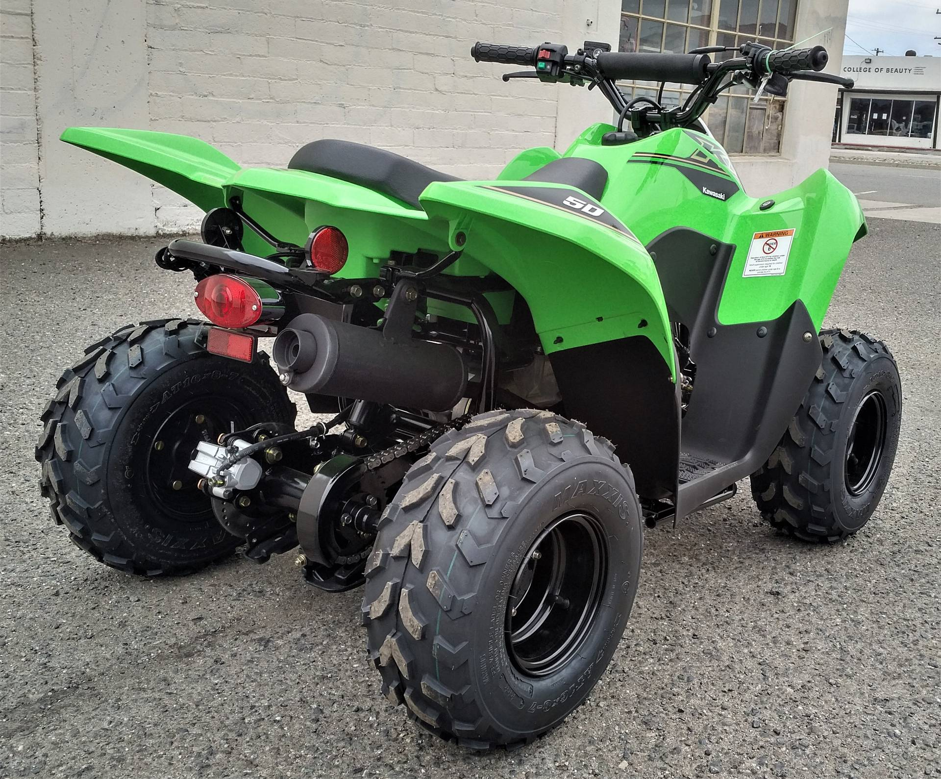 2021 Kawasaki KFX 50 in Salinas, California - Photo 9