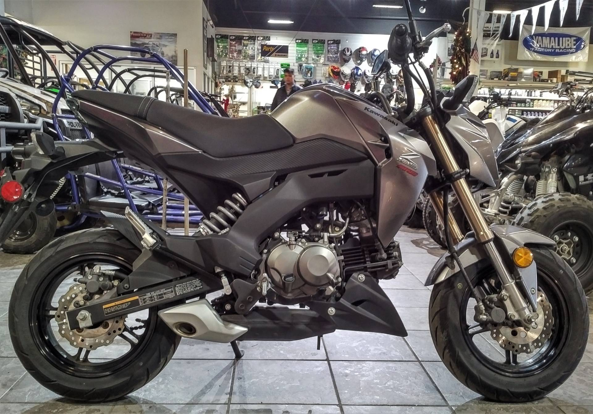 2017 Kawasaki Z125 Pro >> Used 2017 Kawasaki Z125 Pro Powersports In Salinas Ca