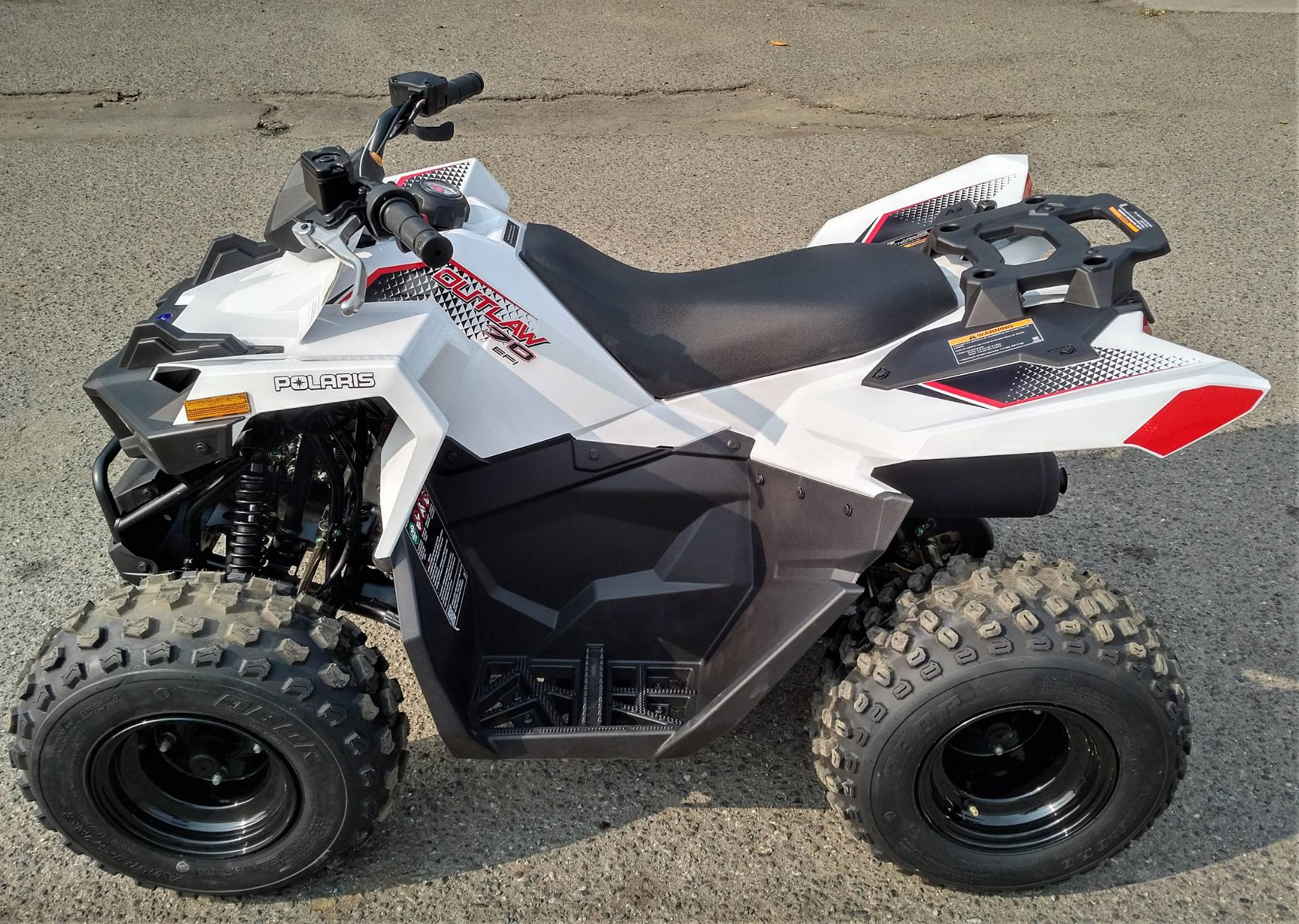 2021 Polaris Outlaw 70 EFI in Salinas, California - Photo 3