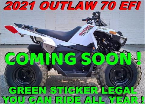 2021 Polaris Outlaw 70 EFI in Salinas, California - Photo 1