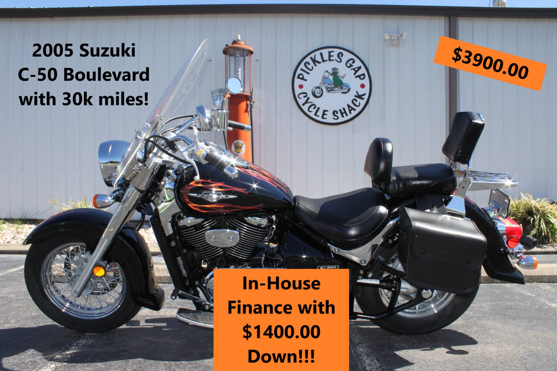 2005 Suzuki C-50 BOULEVARD in Greenbrier, Arkansas - Photo 1