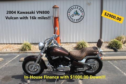 2004 Kawasaki VN800 VULCAN in Greenbrier, Arkansas