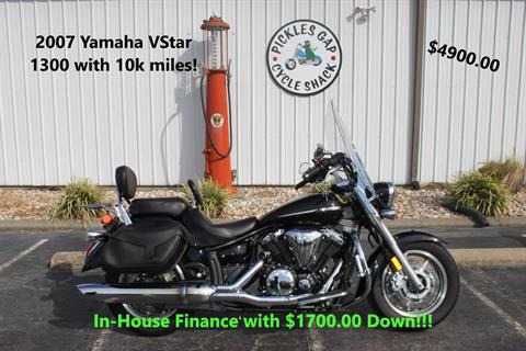 2007 Yamaha XVS1300 VSTAR in Greenbrier, Arkansas