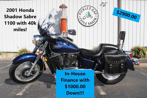 2001 Honda 1100 SHADOW SABRE in Greenbrier, Arkansas - Photo 1