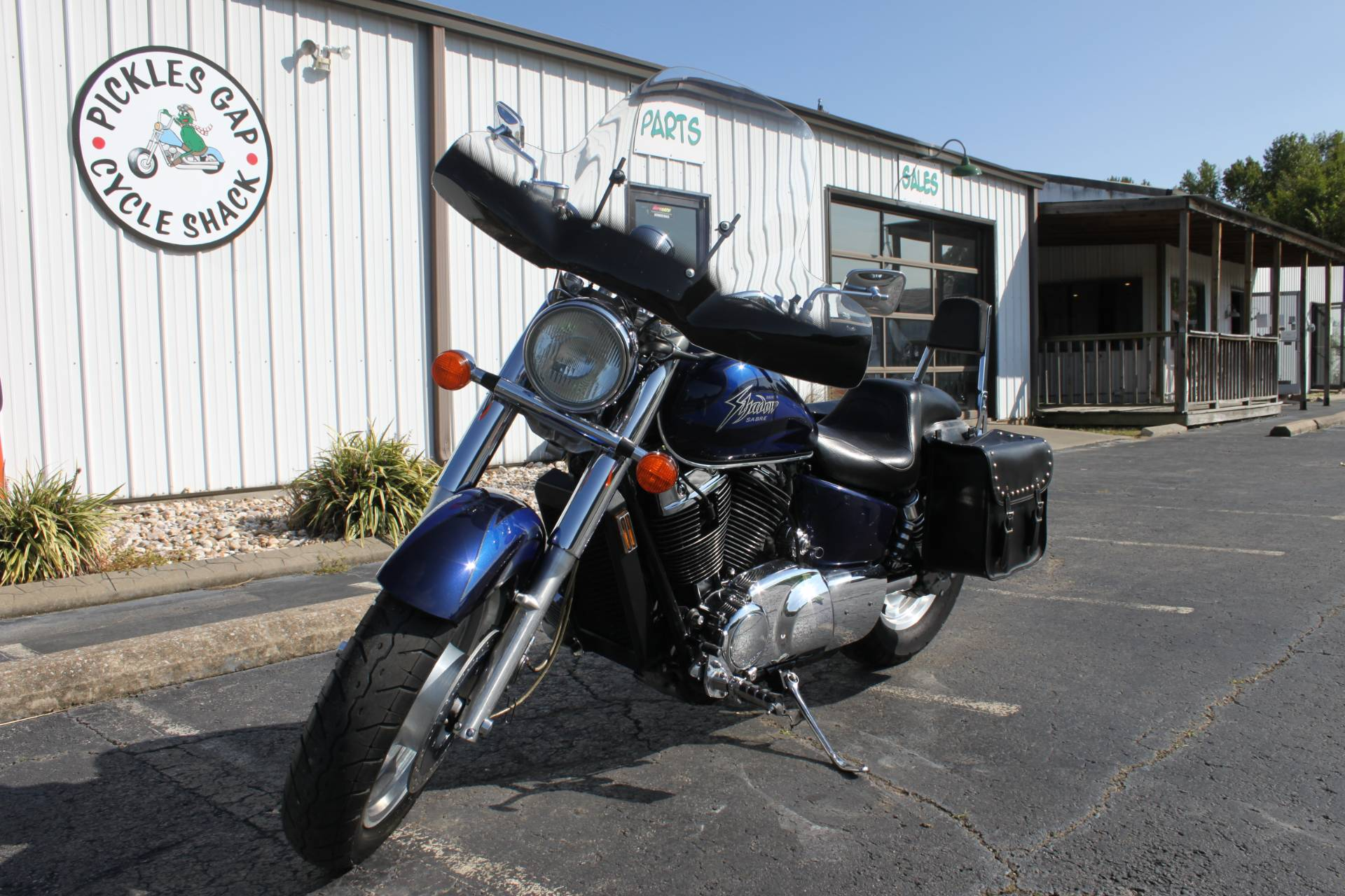 2001 Honda 1100 SHADOW SABRE in Greenbrier, Arkansas - Photo 3