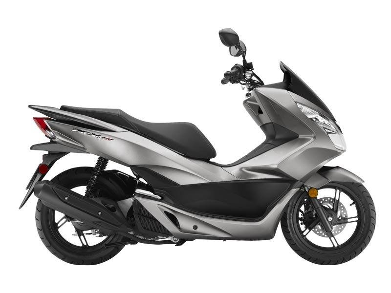 2016 Honda PCX150 Steel Grey in Phillipston, Massachusetts