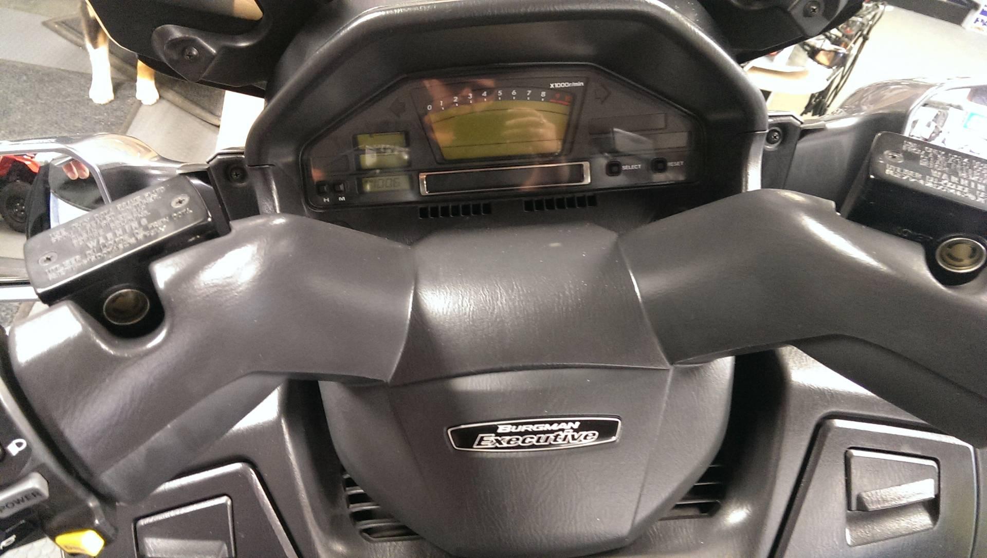2006 Suzuki Burgman™ 650 Exec in Phillipston, Massachusetts