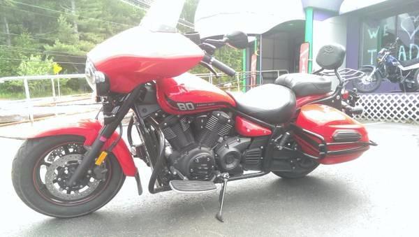 2015 Yamaha V Star 1300 Deluxe in Phillipston, Massachusetts
