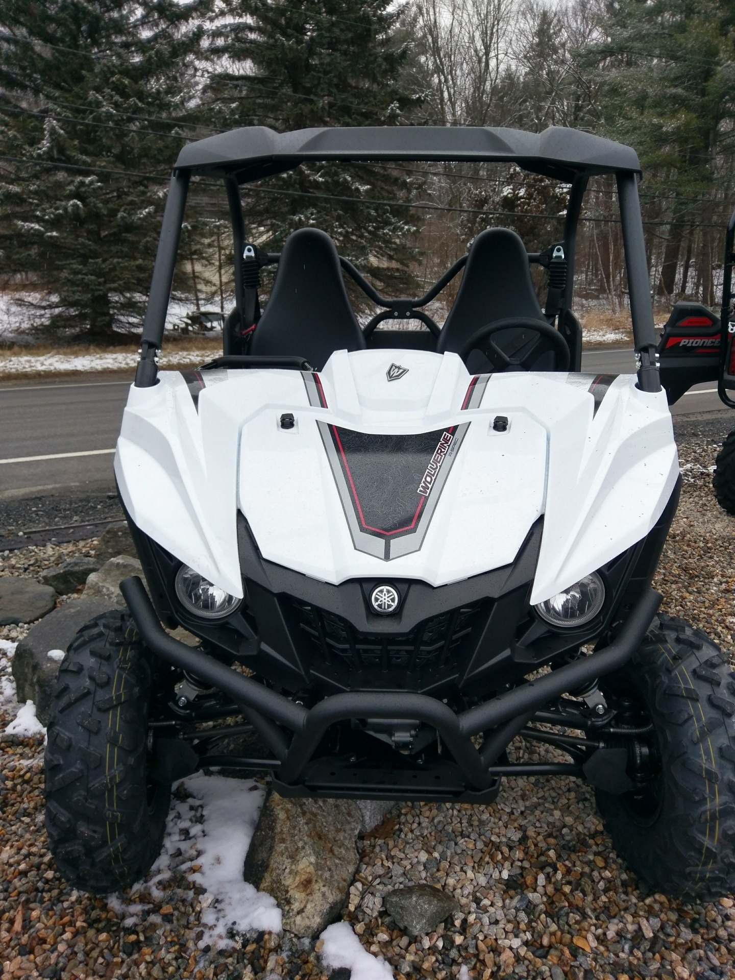 2018 Yamaha Wolverine R-Spec EPS in Phillipston, Massachusetts
