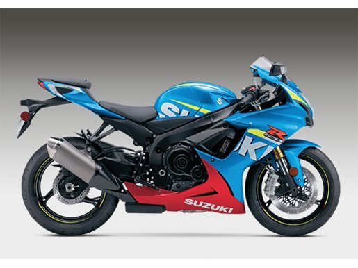 2016 Suzuki GSX-R750 in Phillipston, Massachusetts