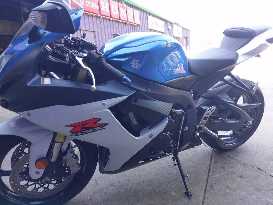 2012 Suzuki GSX-R750™ in Phillipston, Massachusetts