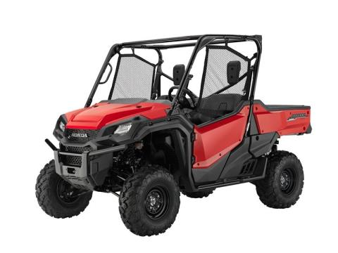 2016 Honda Pioneer 1000 EPS in Phillipston, Massachusetts