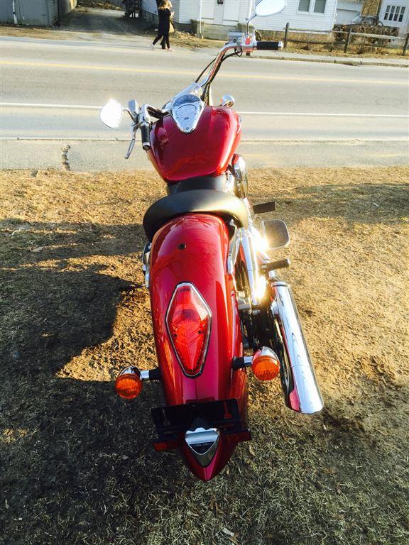 2003 Honda VTX in Phillipston, Massachusetts