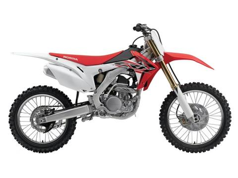2016 Honda CRF250R in Phillipston, Massachusetts