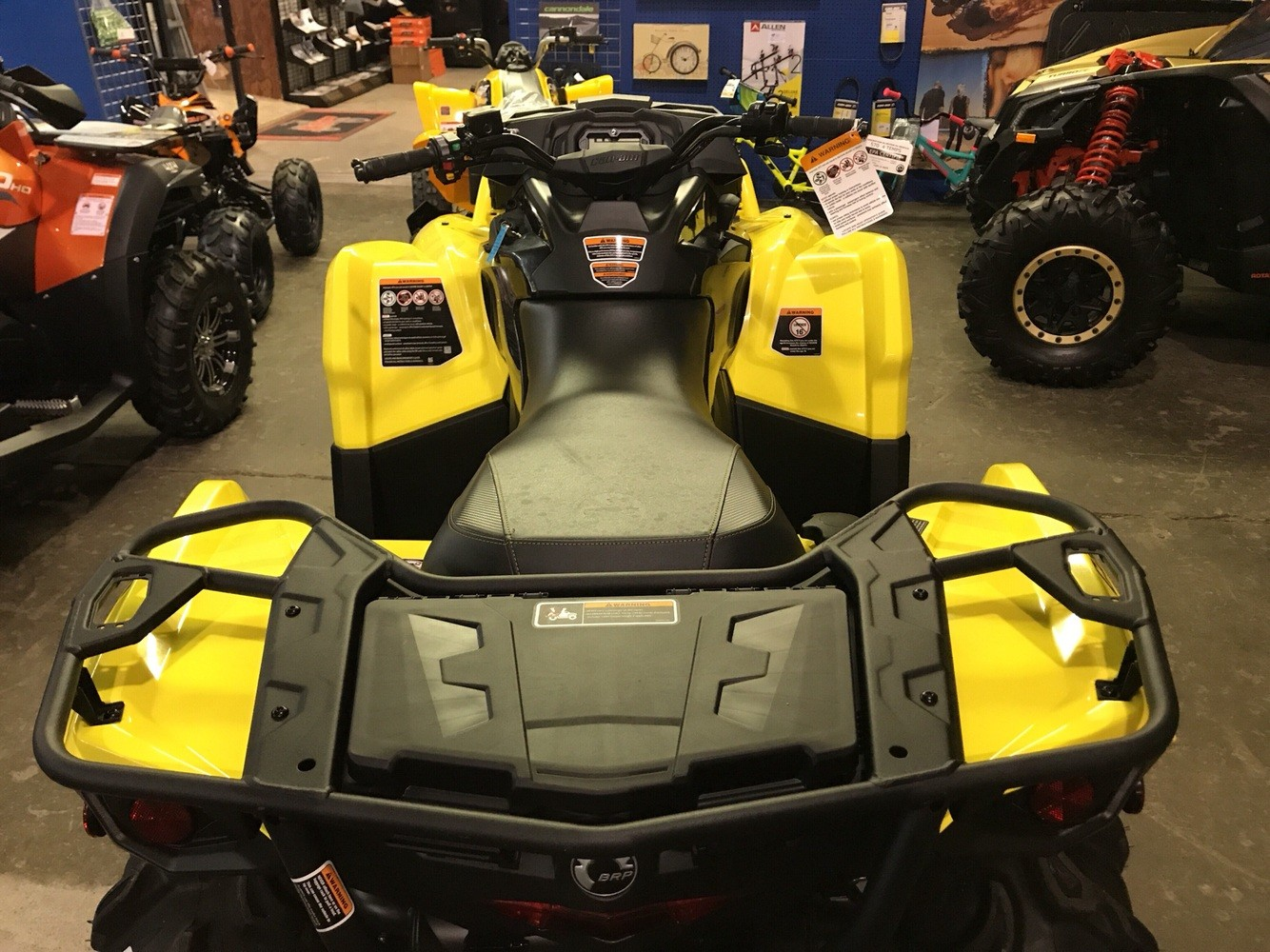 2019 Can-Am Outlander X mr 570 in Pikeville, Kentucky - Photo 3