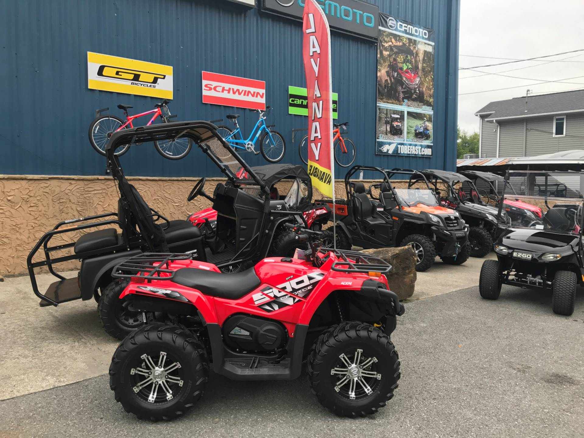 2017 CFMOTO CForce 500S EPS in Pikeville, Kentucky