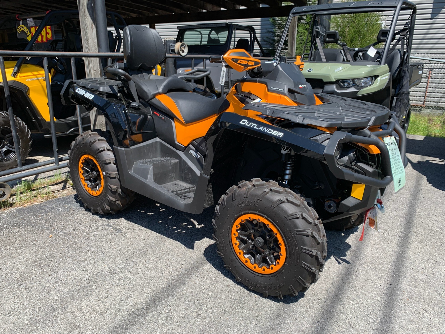 2016 Can-Am Outlander MAX XT-P 850 in Pikeville, Kentucky - Photo 9