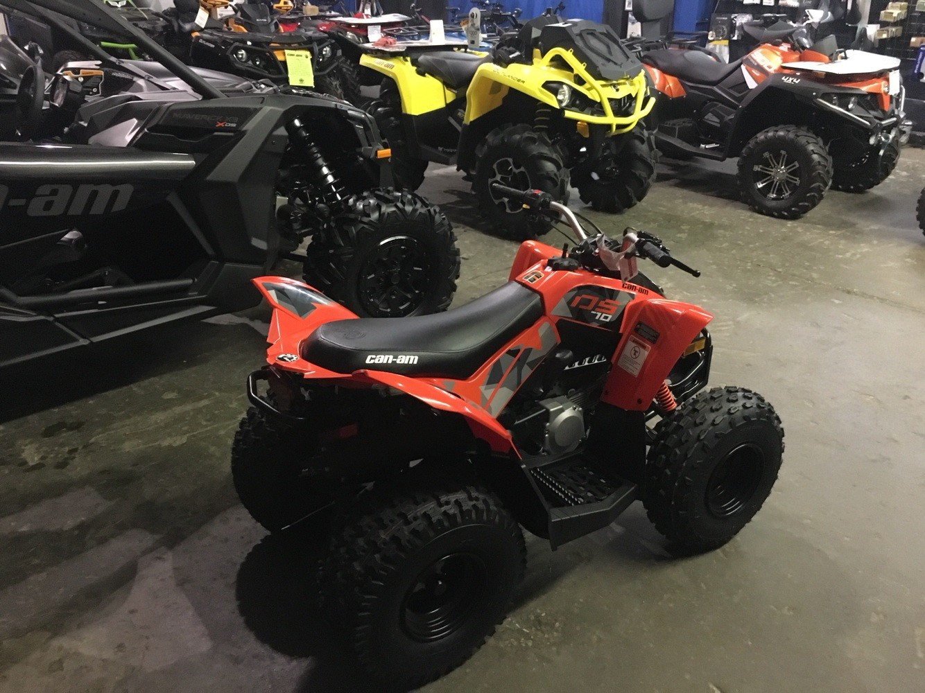 2019 Can-Am DS 70 in Pikeville, Kentucky