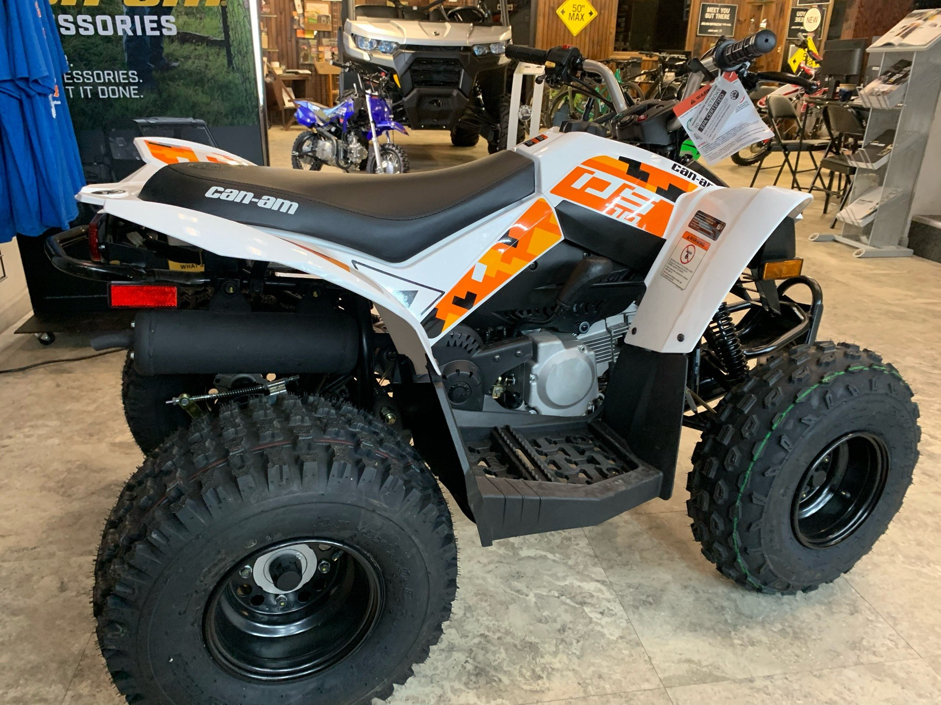 2021 Can-Am DS 70 in Pikeville, Kentucky - Photo 5