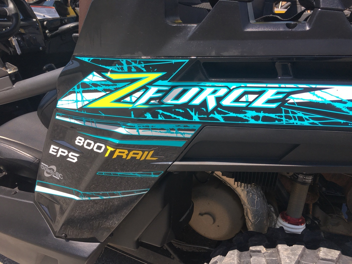 2016 CFMOTO ZForce 800 EPS Trail in Pikeville, Kentucky