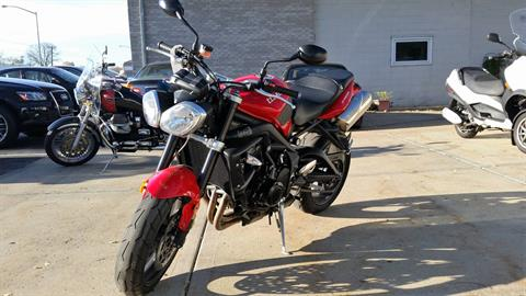 2012 Triumph Street Triple R in Middleton, Wisconsin