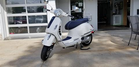 2019 Vespa GTS 300 Yacht Club Special edition in Middleton, Wisconsin