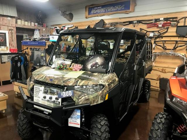 2019 Polaris Ranger XP 1000 EPS Premium in Caroline, Wisconsin - Photo 1