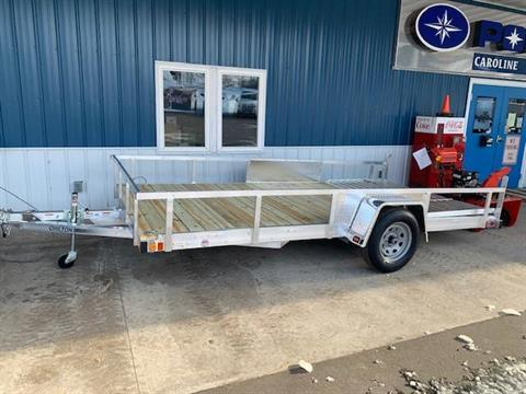 2021 Chilton 7x14 HEAVY DUTY WITH ALUMINUM SIDE RAILS in Caroline, Wisconsin