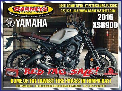 2016 Yamaha XSR900 in Saint Petersburg, Florida