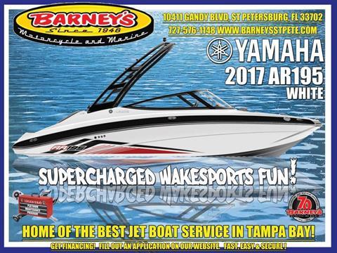 2017 Yamaha AR195 in Saint Petersburg, Florida