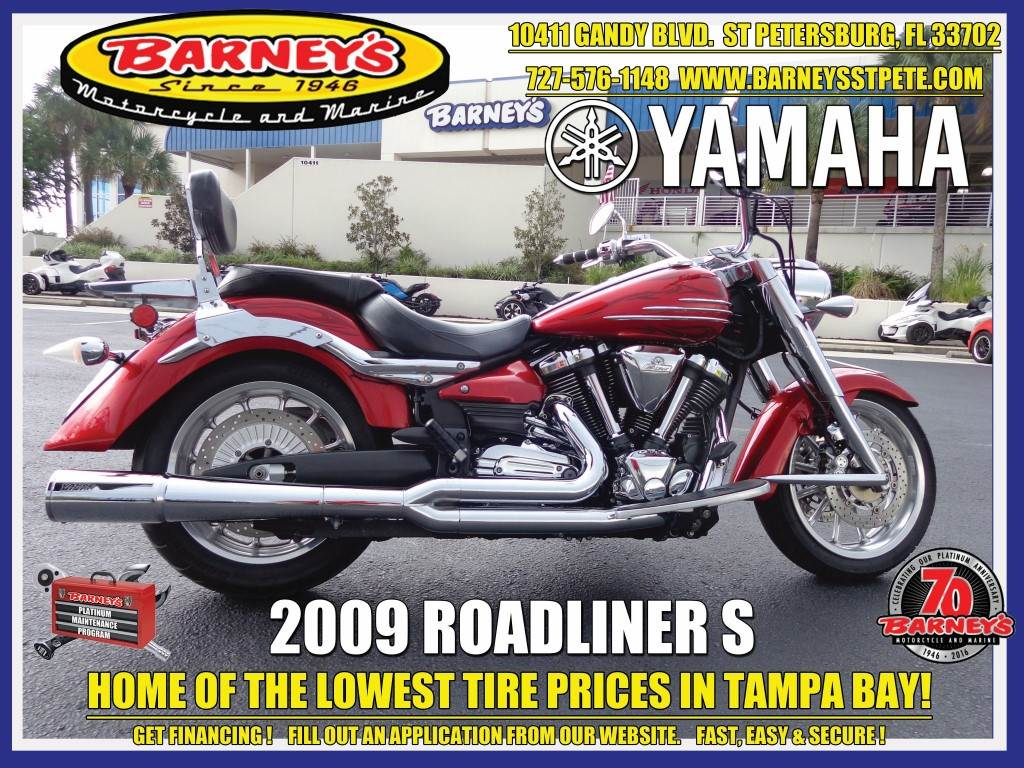 2009 Yamaha Roadliner S in Saint Petersburg, Florida