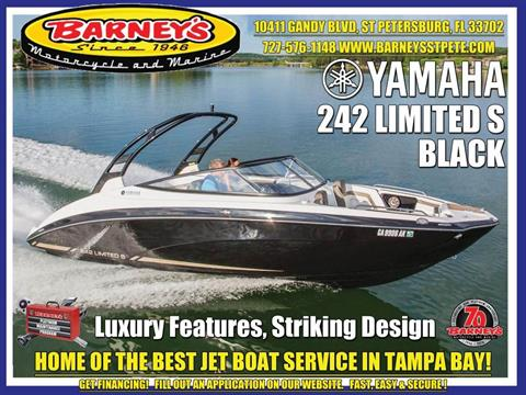 2017 Yamaha 242 Limited S in Saint Petersburg, Florida