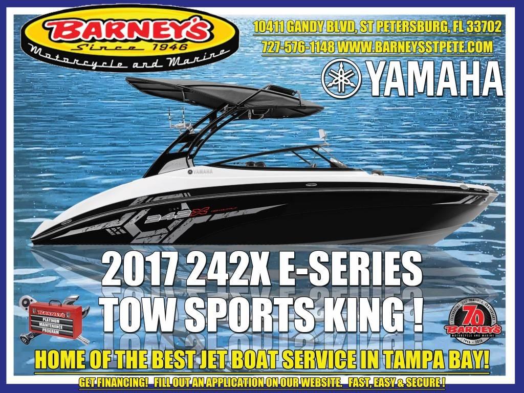 2017 Yamaha 242X E-Series in Saint Petersburg, Florida