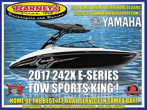 2017 Yamaha 242X E-Series in Saint Petersburg, Florida
