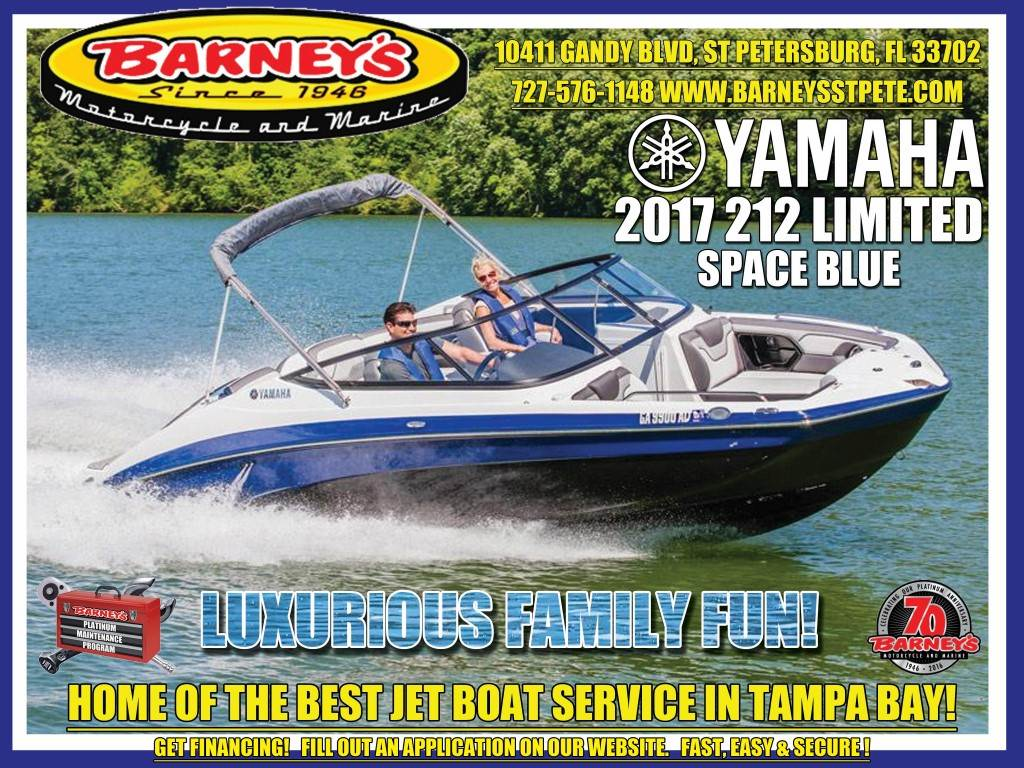 2017 Yamaha 212 Limited in Saint Petersburg, Florida
