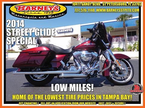 2014 Harley-Davidson Street Glide® Special in Saint Petersburg, Florida