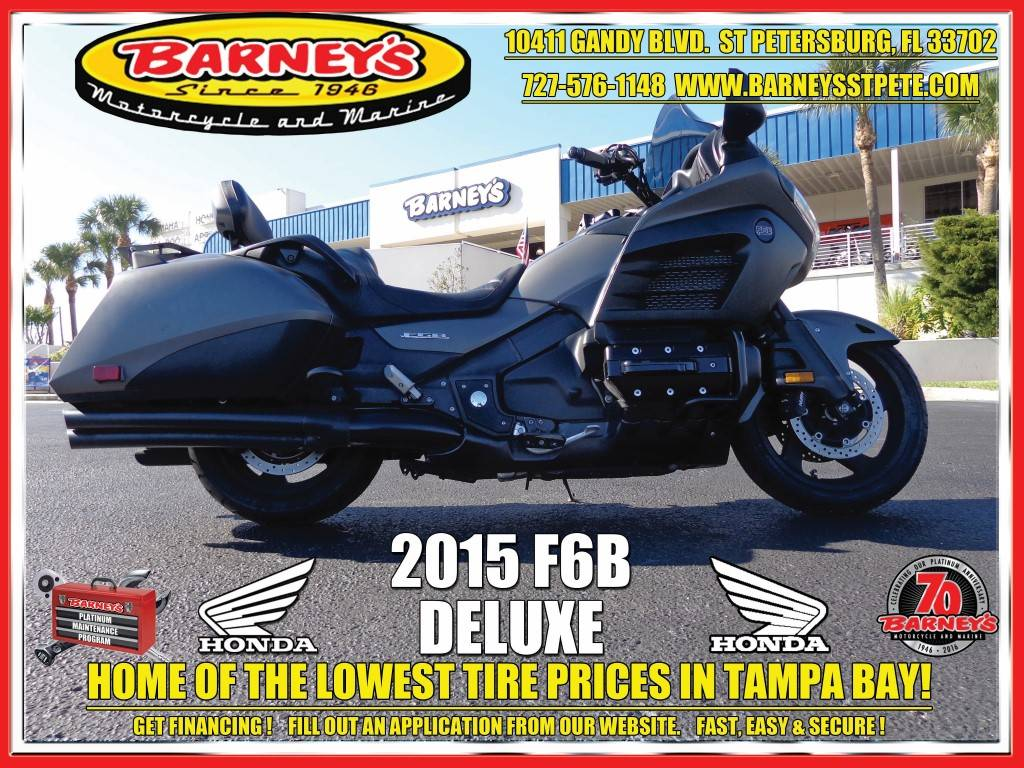 2015 Honda Gold Wing F6B® Deluxe in Saint Petersburg, Florida