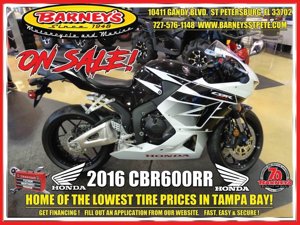 2016 Honda CBR600RR in Saint Petersburg, Florida