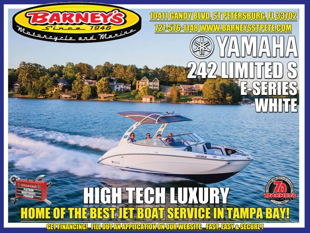 2017 Yamaha 242 Limited S E-Series in Saint Petersburg, Florida
