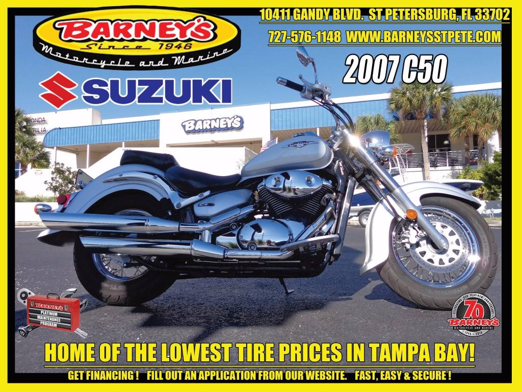 2007 Suzuki Boulevard C50 in Saint Petersburg, Florida