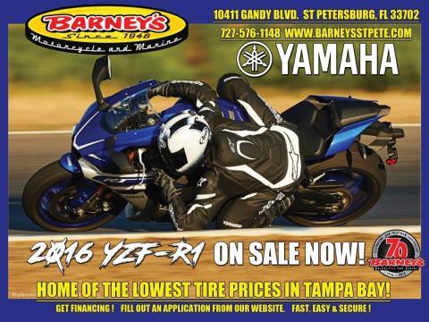 2016 Yamaha YZF-R1 in Saint Petersburg, Florida