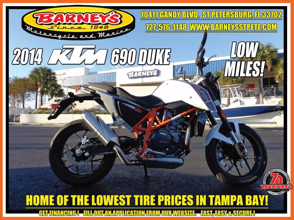 2014 KTM 690 Duke ABS in Saint Petersburg, Florida