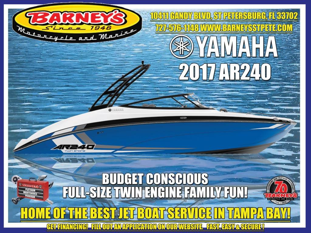 2017 Yamaha AR240 SPACE BLUE in Saint Petersburg, Florida