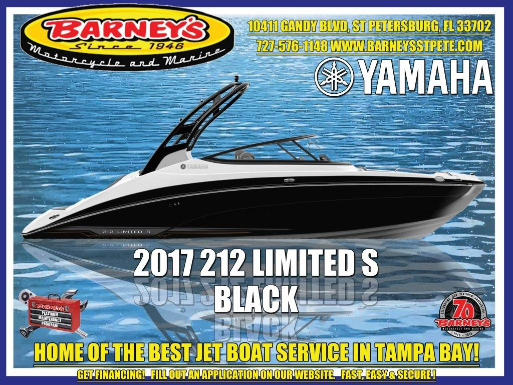 2017 Yamaha 212 Limited S in Saint Petersburg, Florida