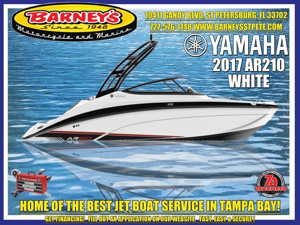 2017 Yamaha AR210 in Saint Petersburg, Florida